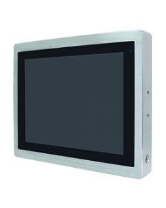 """17"""" IP66 RVS HMI i3-6100U DDR4 slot 32GB SSD Protect Glass"""
