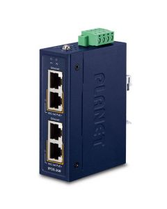 IPOE-260-12V Industrial 2 port 10/100/1000T 802.3at PoE+ Injector 12~56V