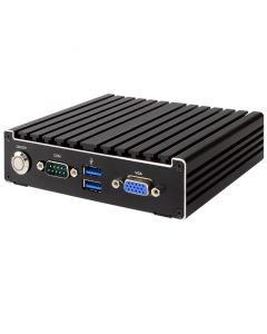 Jetway Fanless Box PC N3350, 2 x HDMI, 1 x VGA