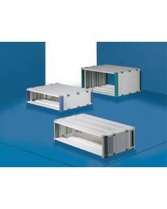 "Heitec HeiCase solid RAL5012 12U/19""/540mm"
