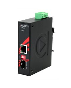 10/100/1000TX to 100/1000FX Industrial Gigabit Media Conver