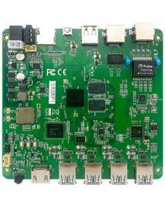 uTX ARM motherboard Cortex A53 1,5GHz, 2GB memory, 8GB flash