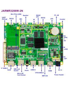 """3,5""""ARM motherboard Cortex A17 1,8GHz, 2GB memory, 8GB flash"""