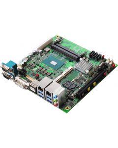 Mini-ITX, QM175 chipset, with Intel Core i3-7100E