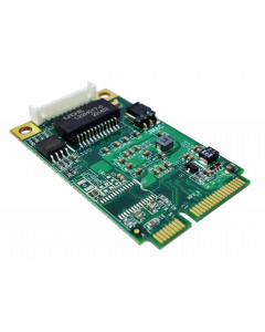MPX-225 PCI Express mini card support up to 2.5 Gigabit Ethernet