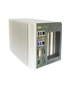 NUVO-2421: J1900 Fanless iPC 2xGbE 2xPCI 1xPCIex4