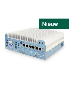 Nuvo-7006E Fanless industrial PC 8th-Gen Corei 6xGBE PCIe