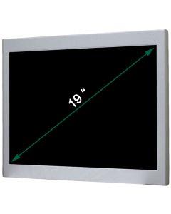 19'' Resistive Metal Panel PC Celeron J1900 24V