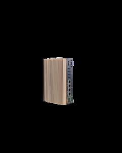Neousys POC 515 fanless rugged box PC with embedded AMD Ryzen Processor and GPU. Contact AbiGo4U.com.