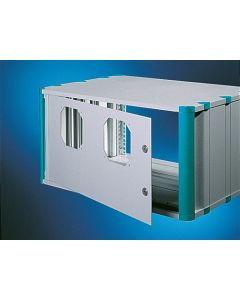 "Heitec Rear door HC for fan installation 3U/19"""