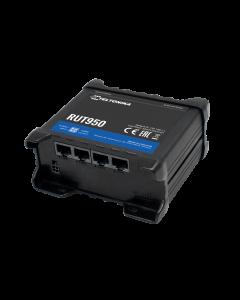Teltonika RUT950 4G/LTE CAT4 industriële router verzendt & ontvangt data op een snelle en veilige manier