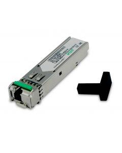 Utepo SFP-1.25G-20KM-TX-RX-PAIR standard single mode SFP optical module. Contact AbiGo4U.com.