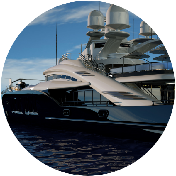 exclusive yacht